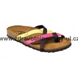 Santé IB/7113 dámský pantofel Multi/Color