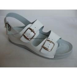 Medistyle Ema SE-511 dámský sandál bílý