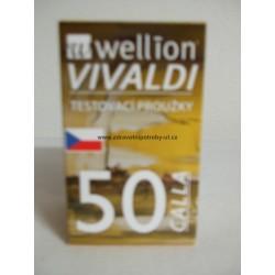Proužky testovací Wellion Calla Vivaldi 50ks