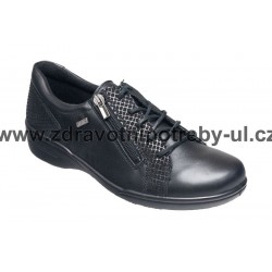Santé AL/0F70-4R Černá dámská vycházková obuv