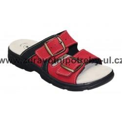 Santé DM/125/33/38/CP červená dámský pantofel