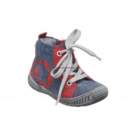 Santé N/Paris/103/89/30 modrá dětská vycházková obuv