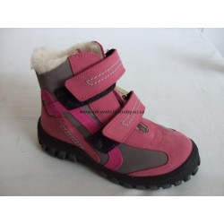 Sázavan S 1462 dětská zimní obuv růžová