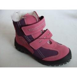 Sázavan S 1562 dětská zimní obuv cyclamen