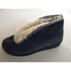 Santé MJ/005/V02 dámská domácí obuv modrá