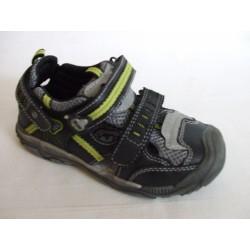Santé RN/RUN-4A dětský sandál černý
