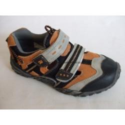 Santé RN/4052 dětský vycházkový sandál oranžová