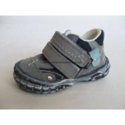 Santé SL/17 dětská vycházková obuv modrá