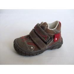Santé SL/17 dětská vycházková obuv hnědá