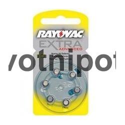 Baterie do naslouchadel R10,R13,R312