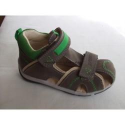 Santé SK/333 Khaki-Zelený dětský sandál vel. 20 - 25