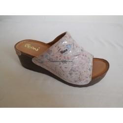 Peon AM/549-11F dámská pantofel klínek