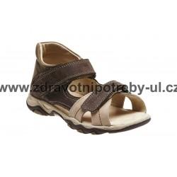 Santé N/950/803/53/14 dětský sandál Hnědo/béžová