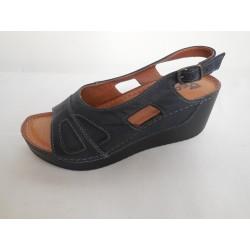 Peon AM/530-3 dámský sandál tm. modrá