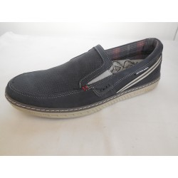Santé PE/14409-07 Atlantico pánská vycházková obuv Modrá