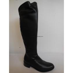 Hilby EP-861 (535)  dámské kozačky vysoké černé