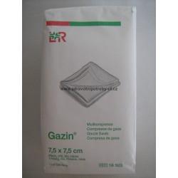 Gazin gázová komprese nesterilní 7,5 x 7,5 cm 100ks