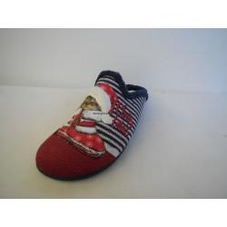 Santé AB/20439 CHRISTMAS CAT dámská domácí obuv