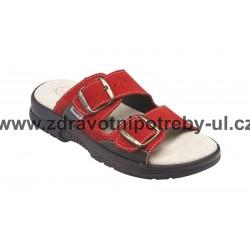 Santé N/517/33/38/CP dámský pantofel Červená
