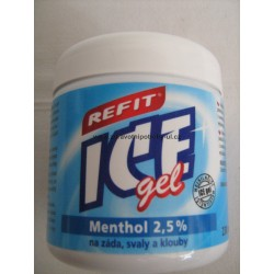 Refit Ice gel Menthol 2,5% 230 ml