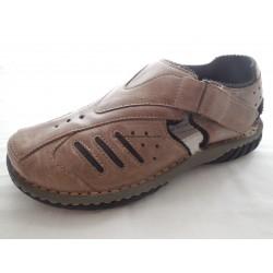 Santé CB/102770 pánský sandál Hnědá