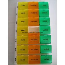 Dávkovač léků týdenní  typ 03