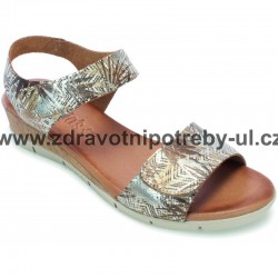 Valerias 7121 dámský sandál Beige