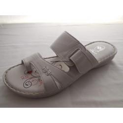 Santé RE/43119 dámský pantofel Bílý